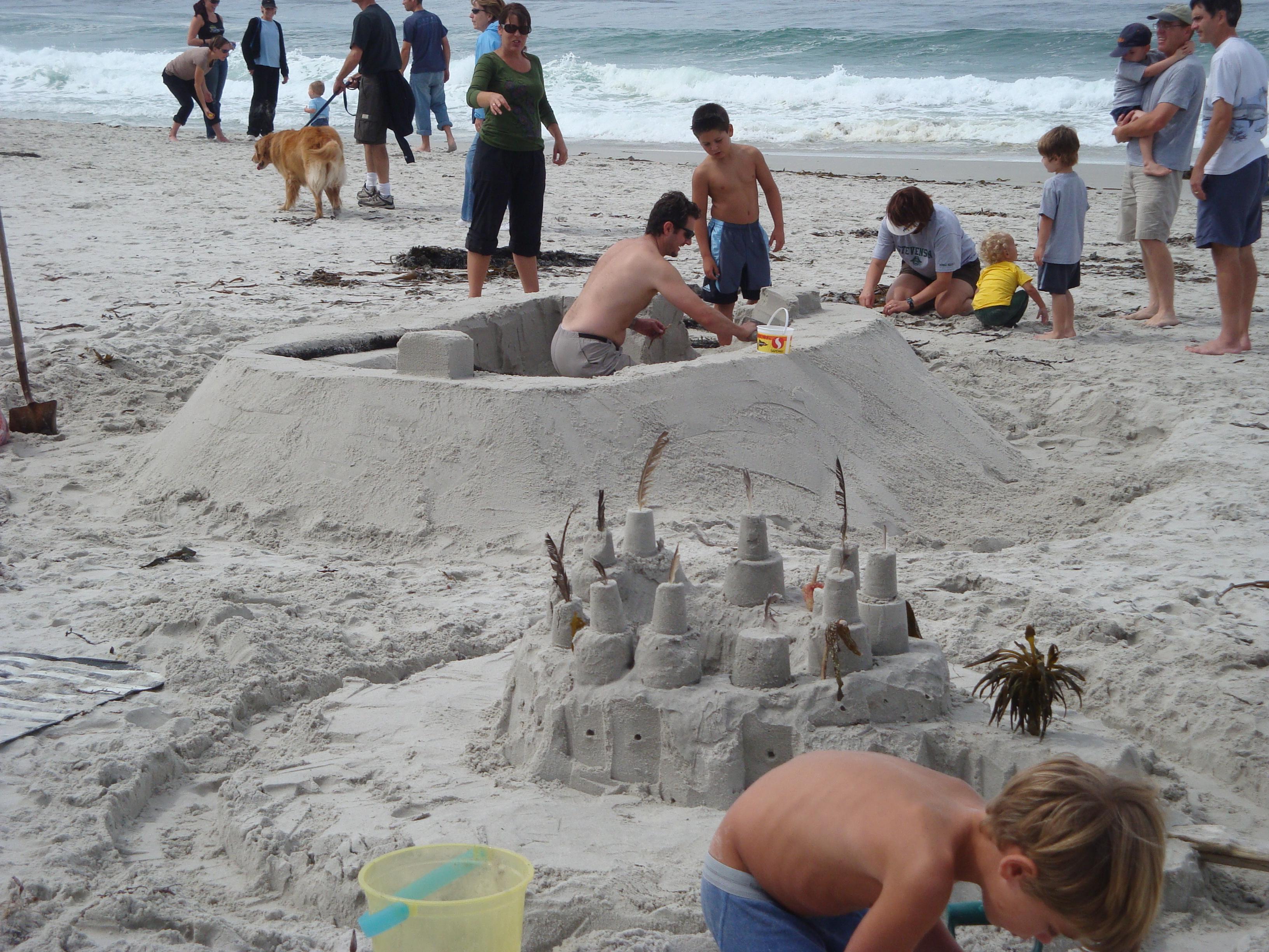 carmel beach sandcastle contest | xasáuan today
