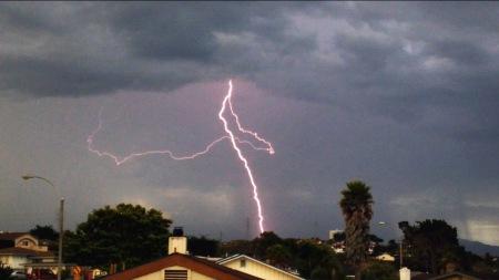 LightningOverVentana